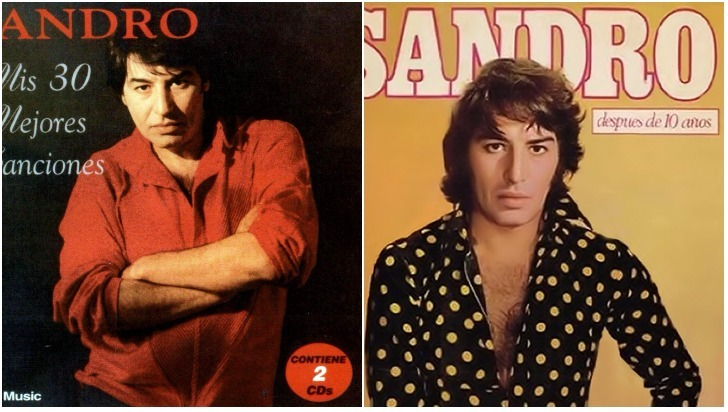 Latinoamérica recuerda al cantante Sandro en el octavo aniversario de su muerte