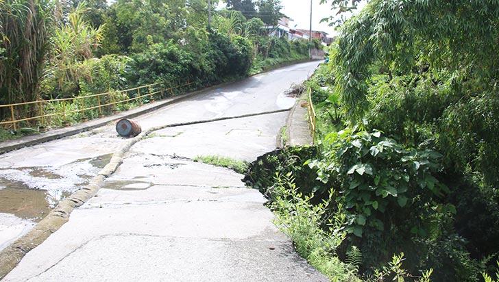 Habitantes de La Fachada continúan sin puente luego de 1 año y 8 meses