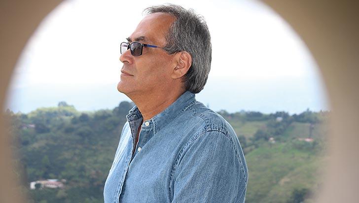Johanny Zuluaga Valbuena, en los zapatos del invidente