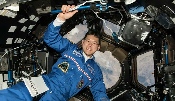 Astronauta japonés engañó a todos al afirmar que había crecido 9 cm