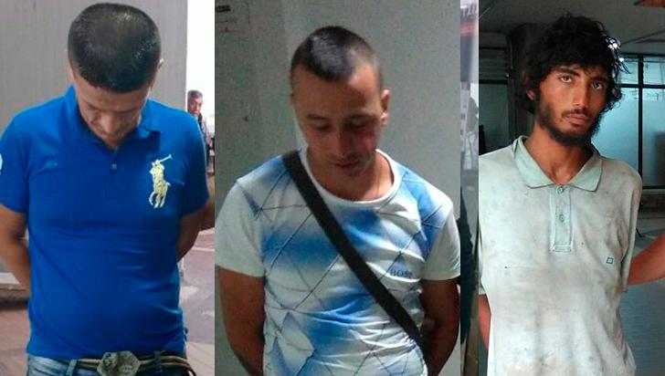 Cayeron en Armenia tres sujetos condenados por hurto
