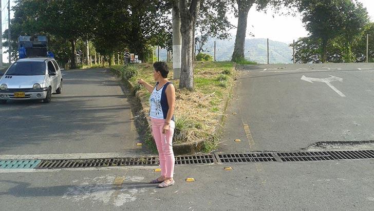 Llanitos de Guaralá, sin parques ni reductores de velocidad