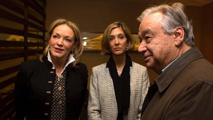 Secretario General de la ONU llegó al país para ratificar apoyo a proceso de paz