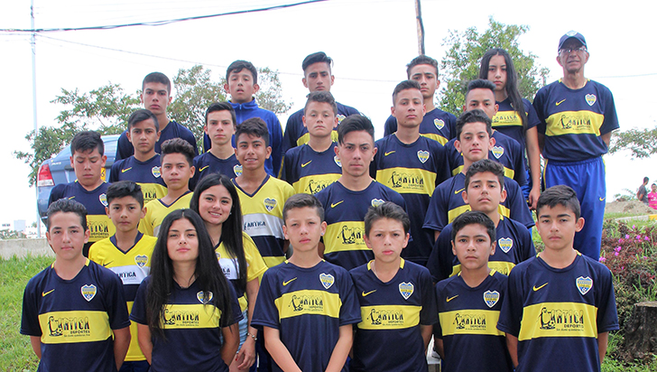 Conocer experiencias, propósito de la visita de Boca Juniors al Quindío