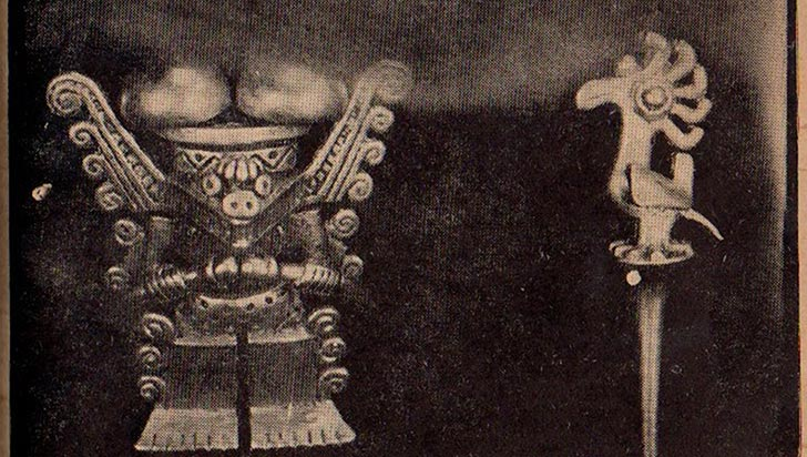 Características de los yacimientos arqueológicos del Tesoro Quimbaya según la historiografía