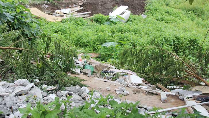 Consumo de alucinógenos y basuras, problemas en sector cercano a la EAM