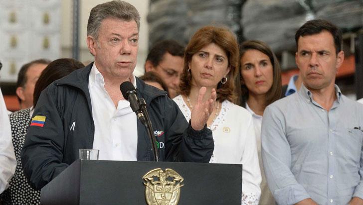 Santos pide evitar la xenofobia ante la masiva llegada de venezolanos al país