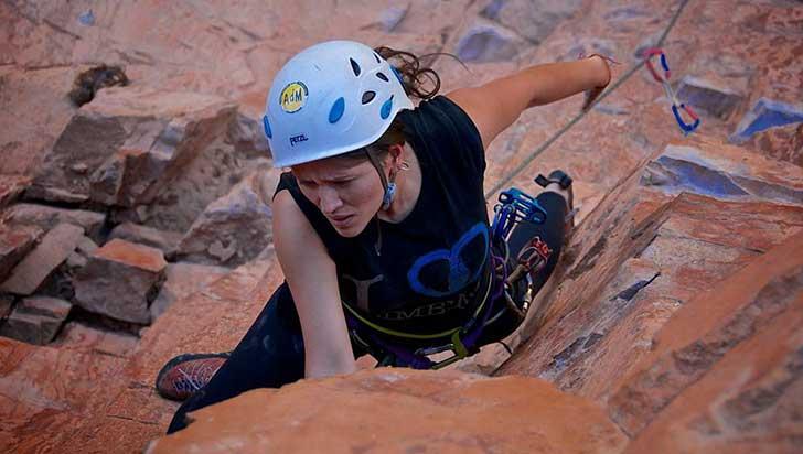 Carolina Ramírez, escaladora de retos