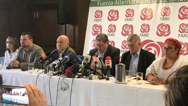 Farc suspende su campaña electoral ante las protestas ciudadanas