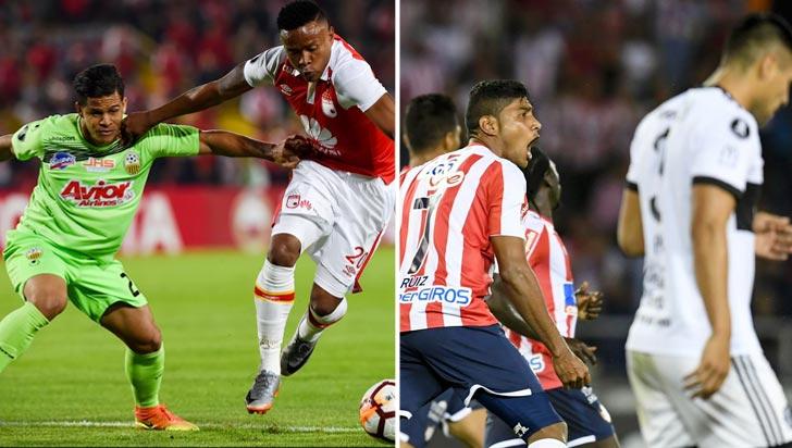 Santa Fe y Junior clasificaron a la siguiente fase de la Copa Libertadores