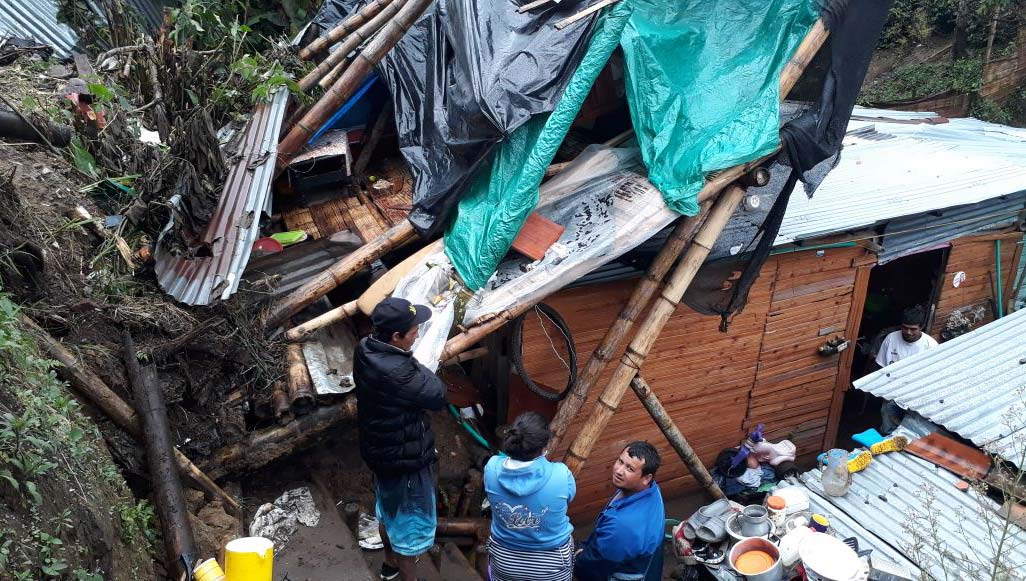 Emergencias por fuertes lluvias se registraron en Armenia