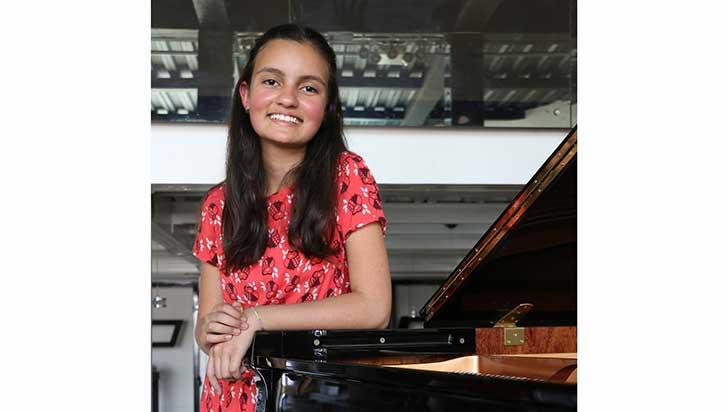 Pianista quindiana participa por Colombia en concurso de televisión
