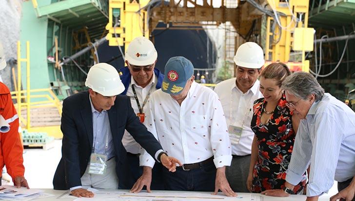 En julio se entregará una parte de las obras  del túnel de La Línea