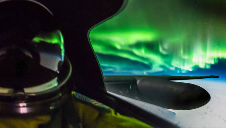 Estas son las fotografías más alucinantes de una aurora boreal en la historia