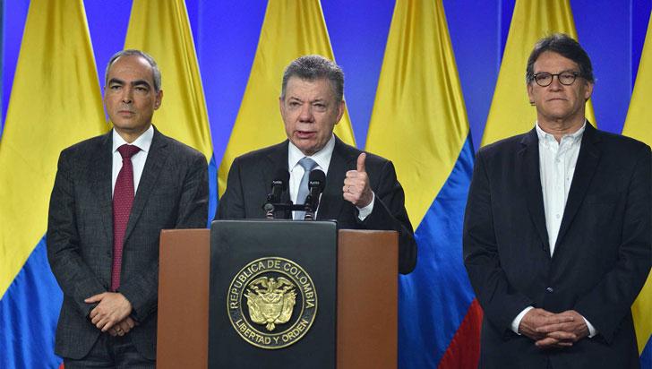 Santos confirma que ha decidido retomar los diálogos de paz con el Eln