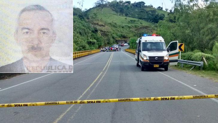 Hombre de 75 años falleció tras ser arrollado por moto en el sector de Chagualá