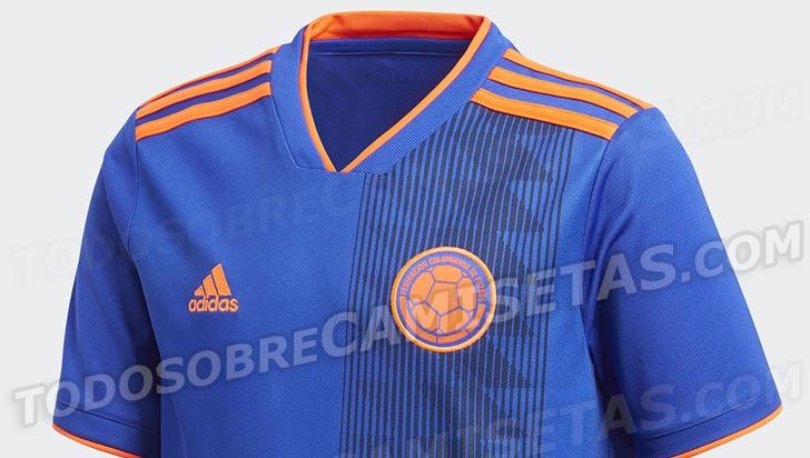 7c8523fc8b9 Así sería la camiseta suplente de Colombia en el mundial de Rusia 2018