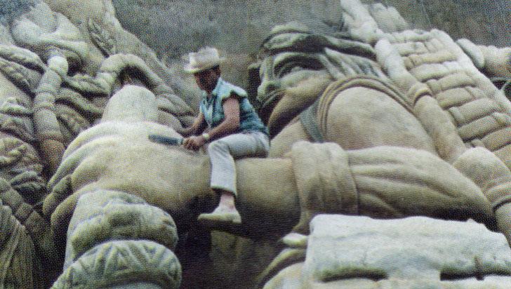 """Efrén Fernández Varón, el creador del """"arte tierra"""""""