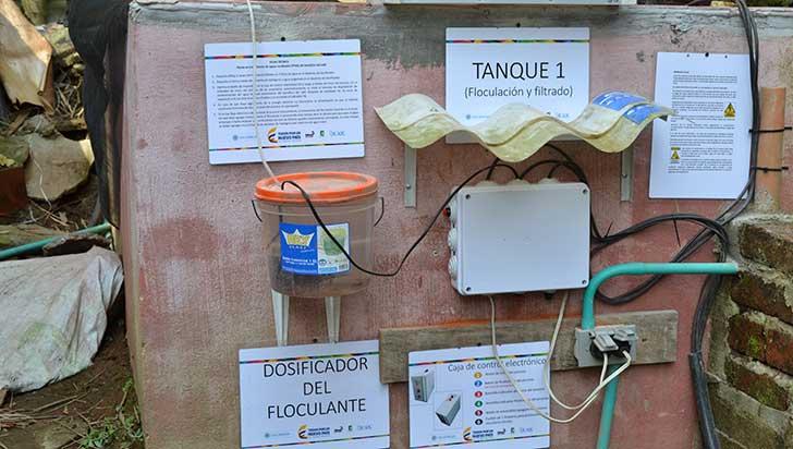 Innovación para tratamiento de aguas residuales del beneficio del café