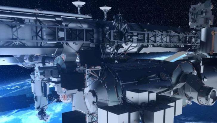 Primer sistema de comunicación entre Tierra y espacio se instalará en la Estación Espacial
