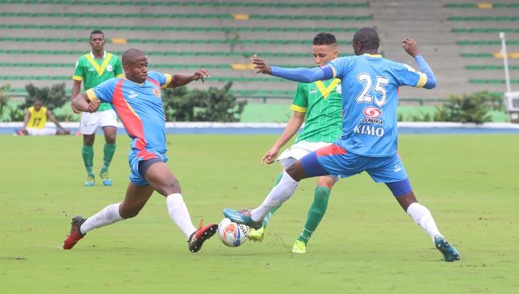 Deportes Quindío derrotó 3-1 a Universitario y tomó ventaja en Copa Águila