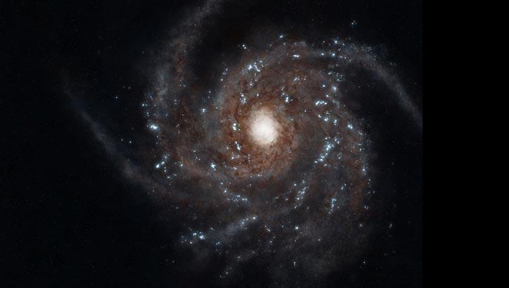 Detectan una docena de agujeros negros en el centro de la Vía Láctea