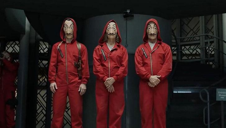 "Desarticulan banda de narcos basada en la serie ""La Casa de Papel"""