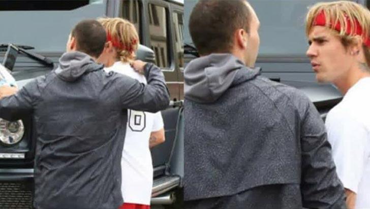 Justin Bieber le rompió el celular a un hombre que quiso tomarse una foto con él