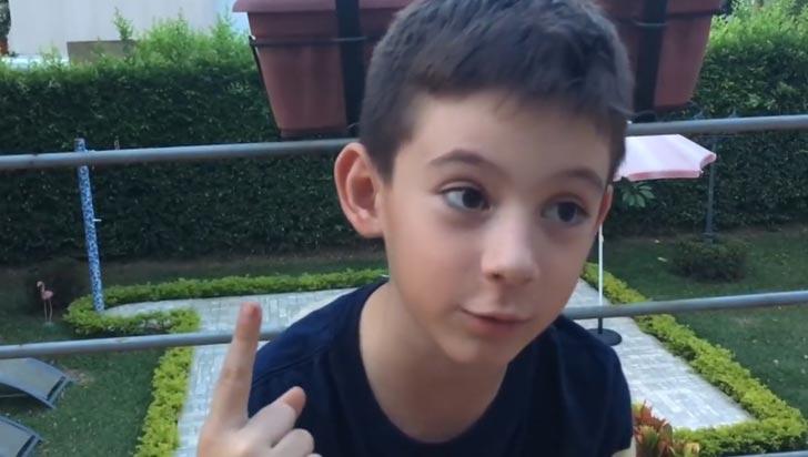 Federico, el niño caleño que conquistó las redes con su video sobre el Asperger