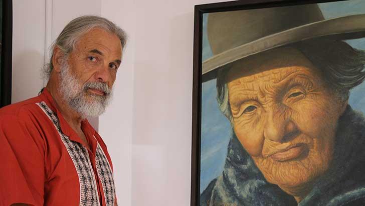 Carlos Vieira,  un antioqueño que dibuja en el Quindío
