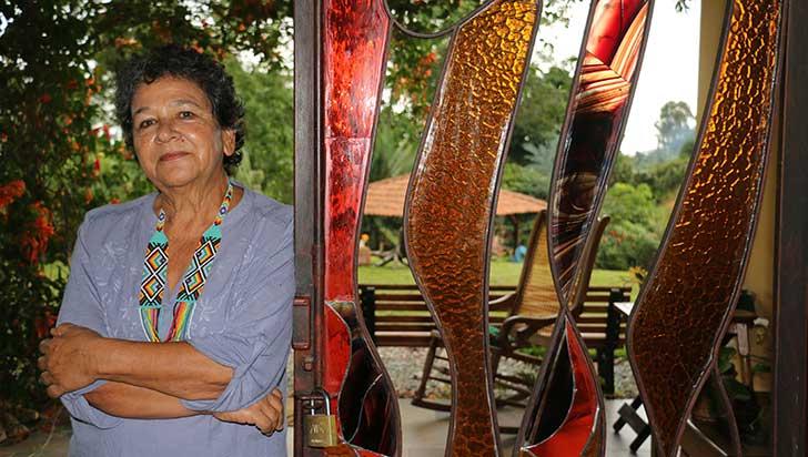 Astrid Franco Uribe, a través del vidrio, descubre un nuevo mundo