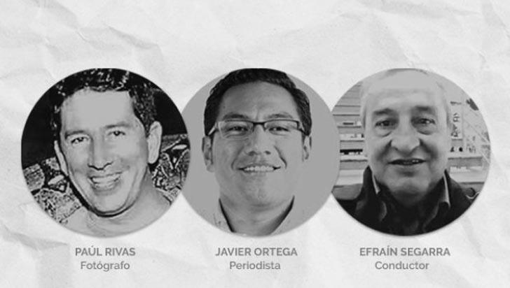 Alias Guacho exige un corredor para entregar cuerpos del equipo de El Comercio