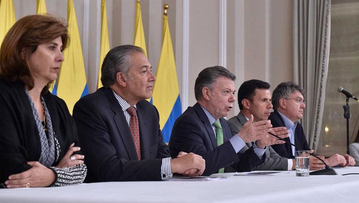 """Santos acepta que proceso de paz con Farc ha tenido """"problemas y retrasos"""""""