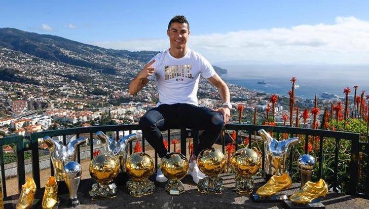 Cristiano Ronaldo producirá una serie sobre fútbol para Facebook Watch