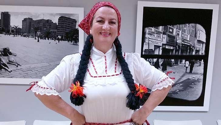 Sara González, representante de las chapoleras en New York