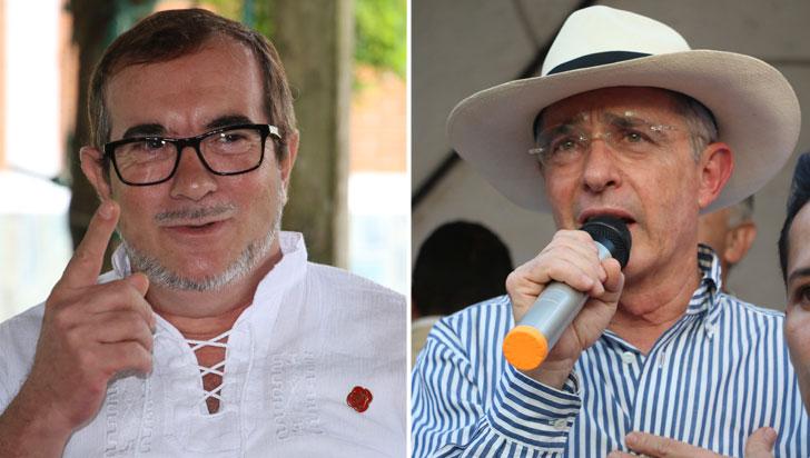 Timochenko le propone a Álvaro Uribe encontrarse en la Comisión de la Verdad
