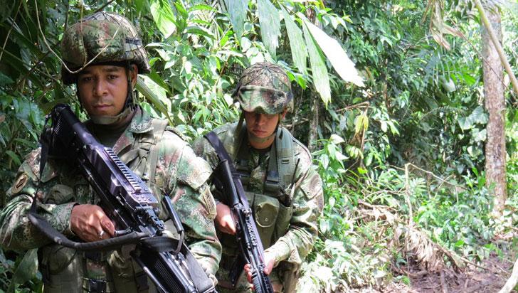 Al menos ocho disidentes de las Farc fueron abatidos en operación militar