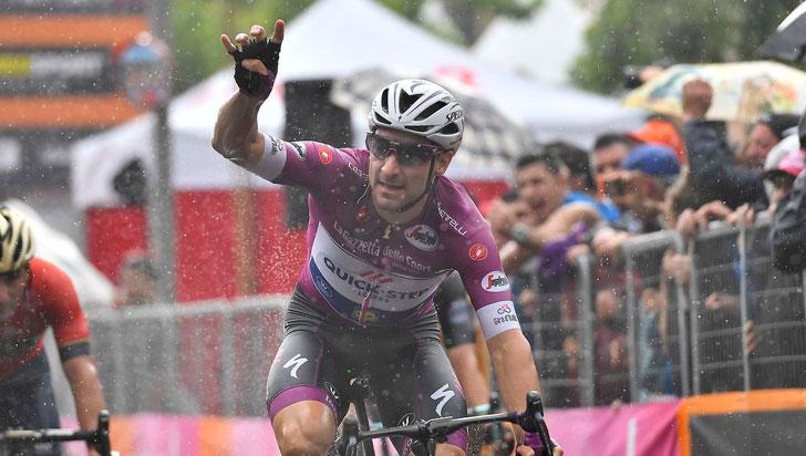 El Italiano Elia Viviani ganó la etapa 17 del Giro de Italia; Yates sigue de líder