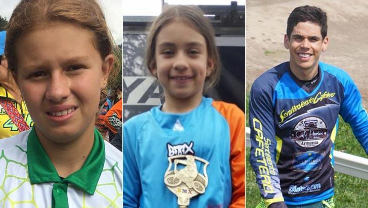 Tres quindianos competirán en el mundial de BMX de 2018