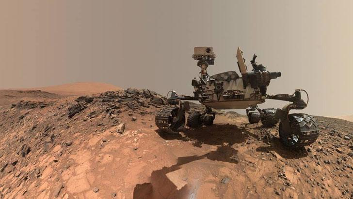 Nasa halló moléculas orgánicas de 3.000 millones de años en rocas de Marte