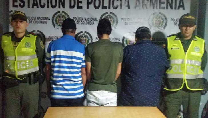 Capturados tres hombres que hurtaron 140 kilos de café en El Caimo