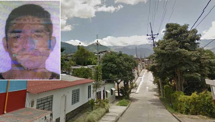 De cinco disparos asesinaron en Calarcá a José Geobany Valencia