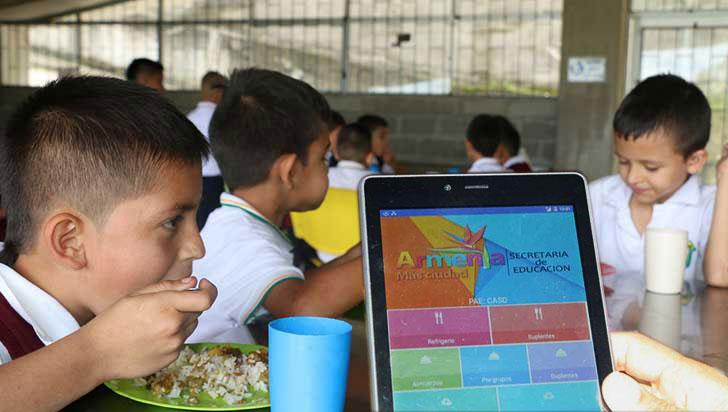 Con un software creado por docentes de Armenia se busca controlar el PAE