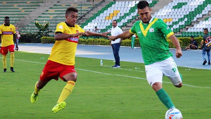 Por poca producción, Diego Areco no seguiría en Deportes Quindío