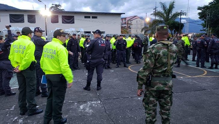 En operativos, autoridades llevaron a cabo 43 capturas en el Quindío