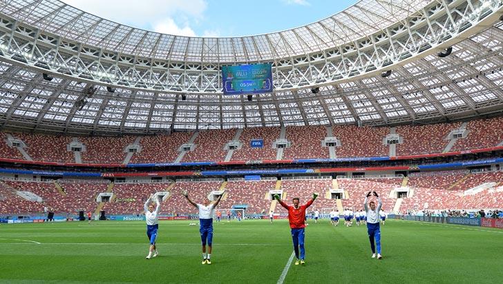 Rusia y Arabia Saudí, los encargados de abrir la fiesta mundial futbolera