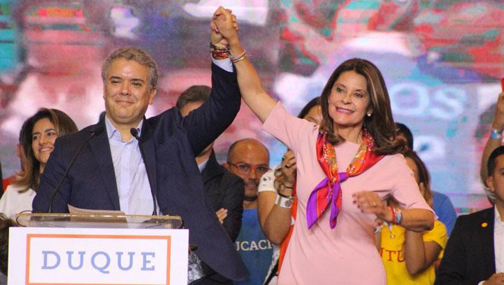 Iván Duque fue elegido como el nuevo presidente de Colombia con 53,98%