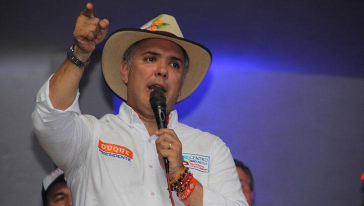 Iván Duque, presidente electo, con propuesta económica para el Quindío