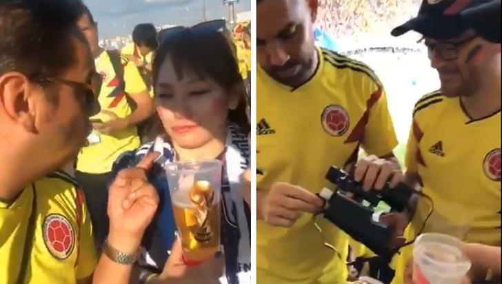 Comportamiento de colombianos en Rusia ha generado indignación en redes