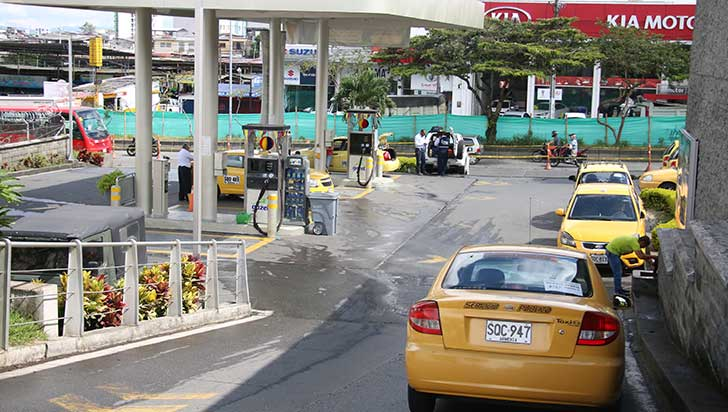 Normalizan suministro de gas natural vehicular e industrial en el Eje Cafetero